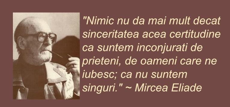 Citate De Fotografi : Mircea eliade citate valoroase despre prietenie