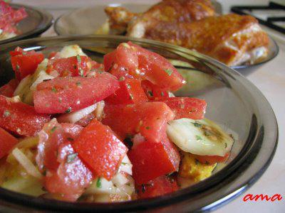 5 salate usoare, de sezon:  Salata de vara (Leto)