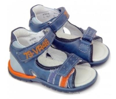 Incaltaminte de vara: 10 modele adorabile pentru copii: Sandale baieti albastre