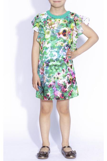 10 Rochite de vara pentru fetite frumoase: Rochita in nuante de turcoaz