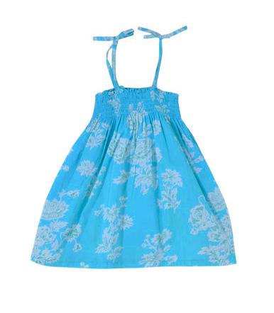 10 Rochite de vara pentru fetite frumoase: Rochita albastra