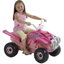 15 Produse care incurajeaza joaca in aer liber a copiilor!: ATV pentru fetite: pret promotional