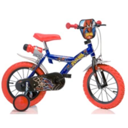 15 Obiecte deosebite pentru joaca micutilor in parc: Bicicleta Spiderman