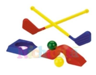 15 Obiecte deosebite pentru joaca micutilor in parc: Joc Minigolf