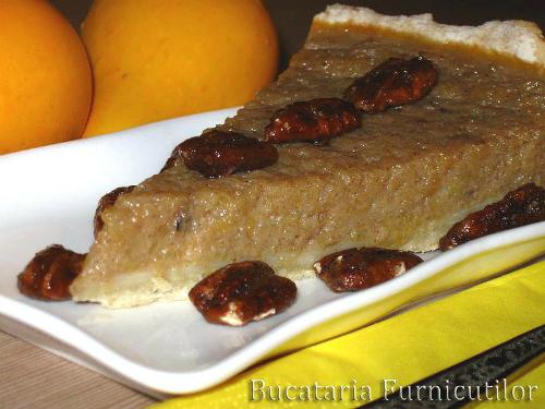 Deserturi unice de sezon cu dovleac:  Tarta cu Dovleac