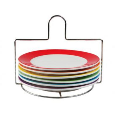 Black Friday in bucatarie: Vezi cele mai bune oferte: Set farfurii micul dejun Rainbow