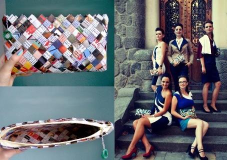 Cele mai frumoase 15 cadouri pentru femei! Inspira-te!: Poseta super-fashion din hartie