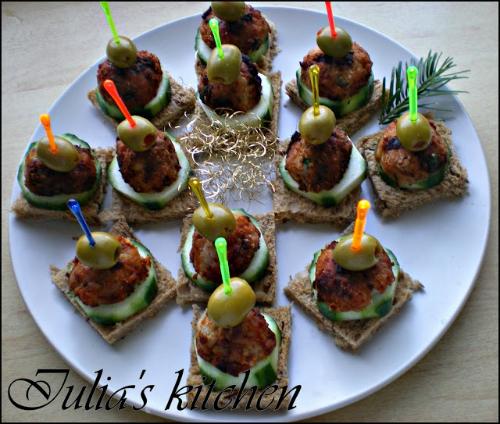 Pregatiri pentru Craciun: 5 aperitive dichisite: Aperitiv festiv