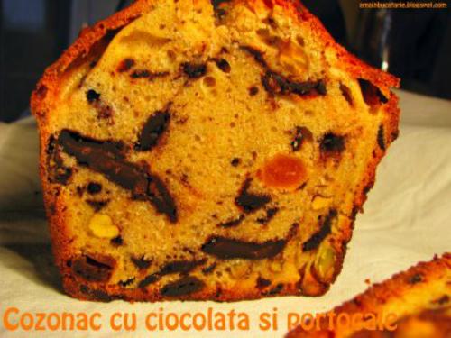 4 retete de prajituri cu portocale speciale pentru Craciun:  Cozonac cu ciocolata si portocale