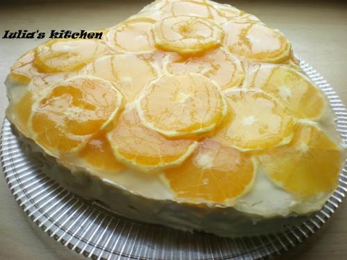 4 retete de prajituri cu portocale speciale pentru Craciun: Tort de portocale