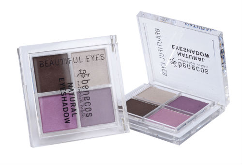 10 Cosmetice NATURALE: Chipul tau radiaza de sanatate!: Cosmetice naturale: Fard pleoape natural Quattro