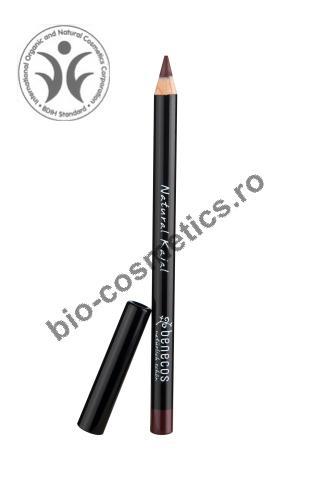 10 Cosmetice NATURALE: Chipul tau radiaza de sanatate!: Cosmetice naturale: Creion de ochi NATURAL KAJAL brown