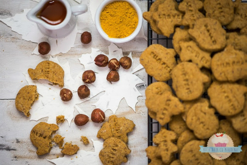 5 gustari de rontait in timp ce urmaresti Jocurile Olimpice:  Biscuiti cu alune de padure si curry