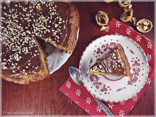 5 deserturi EXCELENTE, de pregatit in weekend:  Tort cu nuca, ciocolata si portocale