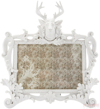 Shopping special: 16 rame foto pentru locuinta ta:  Frame Deer White 18x13cm