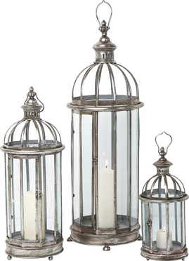 15 accesorii sic pentru a-ti transforma gradina intr-un spatiu de poveste:  Lantern Lustgarten (3/Set)