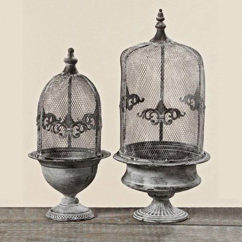 Stilul shabby chic: 18 accesorii decorative incantatoare: Ghivece metalice Katrina