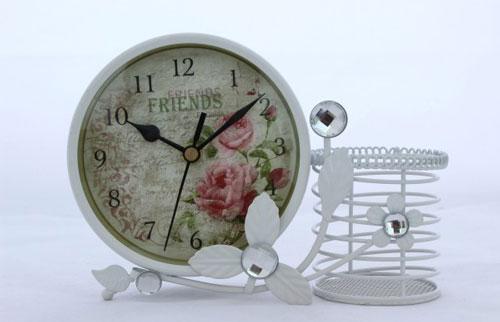 Stilul shabby chic: 18 accesorii decorative incantatoare: Ceas decor Duo