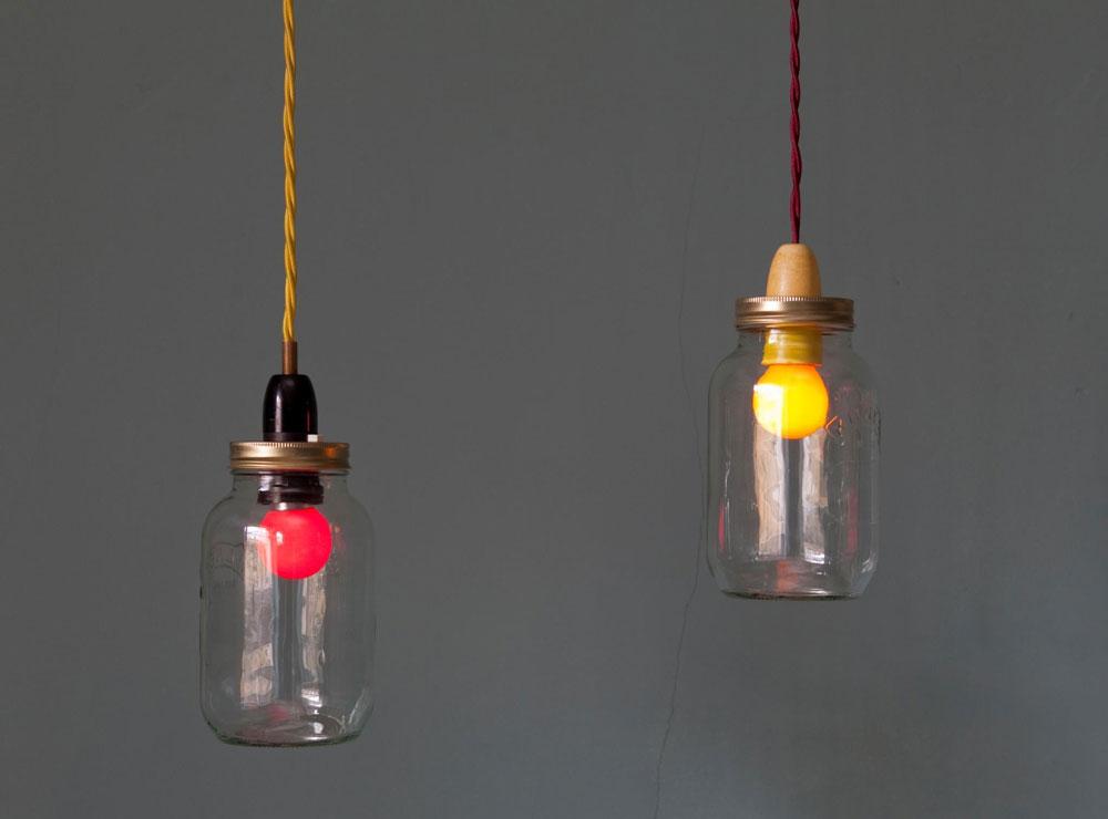 Gradini de basm: Solutii de iluminat pentru gradina: Borcane