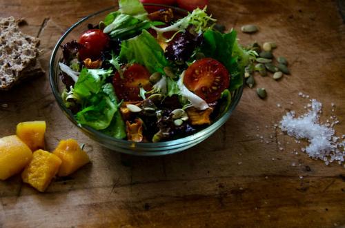 3 retete de toamna cu dovleac: Salata cu dovleac copt