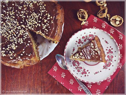 Tortul sau nimic! 4 torturi savuroase: Tort cu nuca, ciocolata si portocale