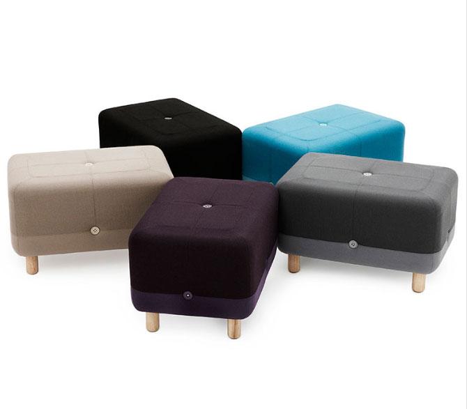 17 piese de mobilier pentru un decor in stilul scandinav: Taburet Sumo