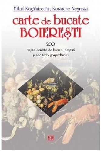 5 carti-cadou de arta culinara de Mos Nicolae: Carte de bucate boieresti - 200 retete cercate de bucate, prajituri si alte trebi gospodaresti