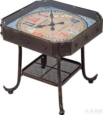 16 modele de Masute de Cafea pentru un living cu personalitate: Masuta Antique Clock 45x45cm
