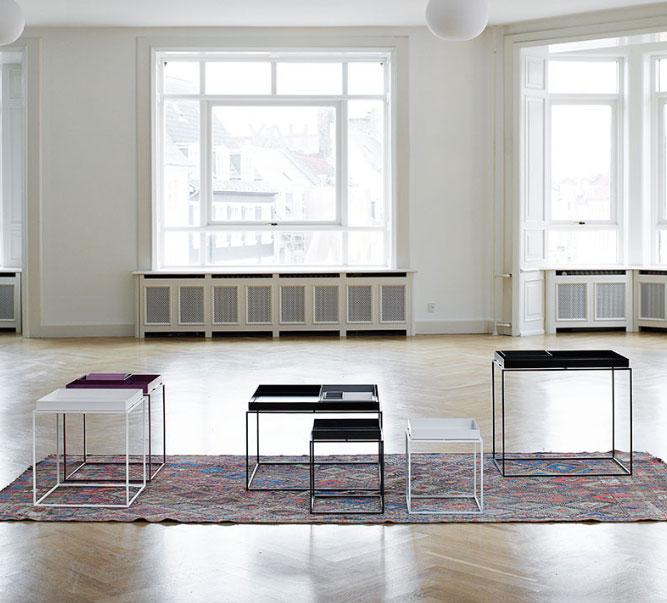 16 modele de Masute de Cafea pentru un living cu personalitate: Tray Table 40x40