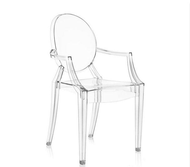 Pentru un dining modern: 13 modele de scaune in tendinte: Scaun Louis Ghost