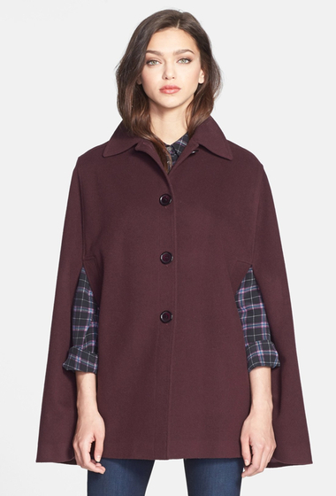 15 CAPE feminine: pentru un look deosebit: Wool Blend Cape