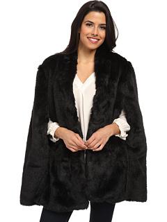 15 CAPE feminine: pentru un look deosebit: Plush Faux Fur Cape