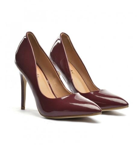 MARSALA - Culoarea Anului 2015. Cum sa adaugi in garderoba ta marsala: Pantofi Deman