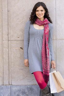 10 modele de rochii pentru toamna: Rochie tricotata