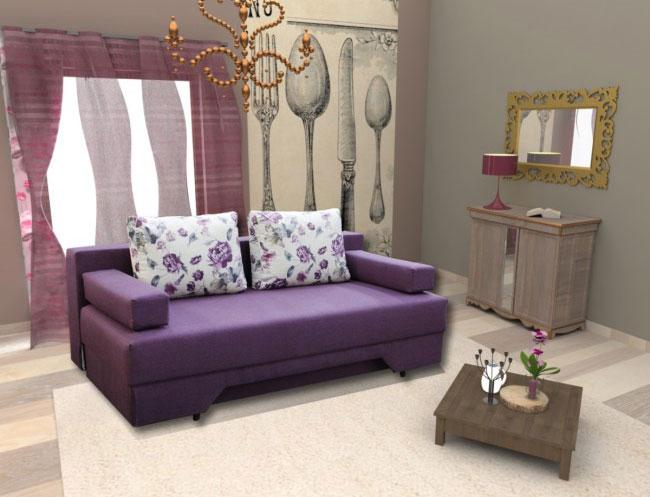 canapea ema extensibila shopping piese de mobilier sub 2000 lei. Black Bedroom Furniture Sets. Home Design Ideas
