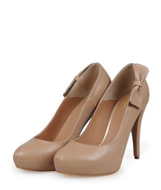 Shopping: 24 de perechi de Pantofi cu toc pentru aceasta primavara: Pantofi cu fundita si platforma ascunsa