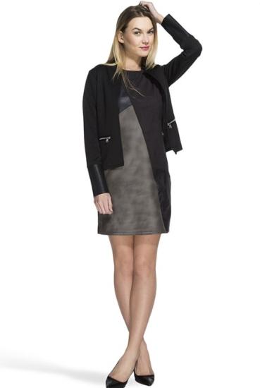 Tinuta de Pasti: 16 sugestii de rochii pentru a arata impecabil in ziua de Pasti: Rochie cu efect grafic
