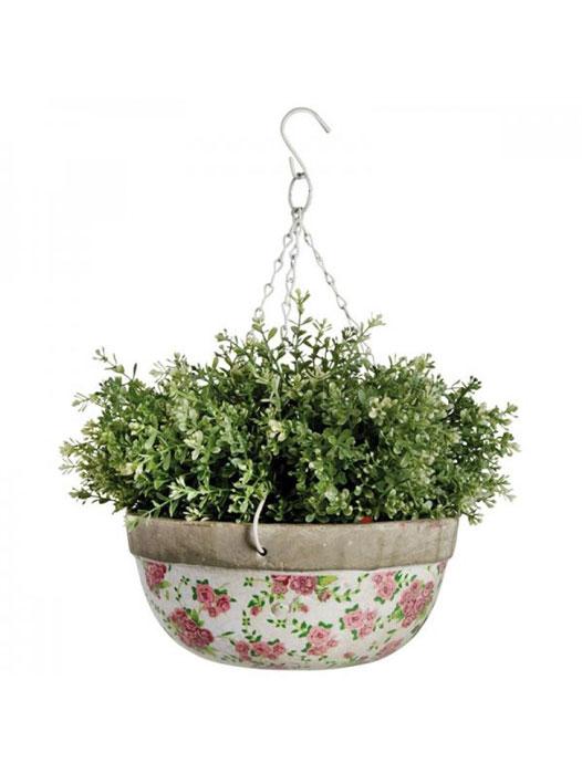 Util pentru plantele tale: 14 modele de ghivece: Ghiveci ceramic antic, cu agatatoare