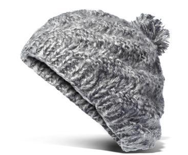 Accesoriile unei doamne: 17 palarii, berete si caciulite pentru iarna: Bereta gri, de lana