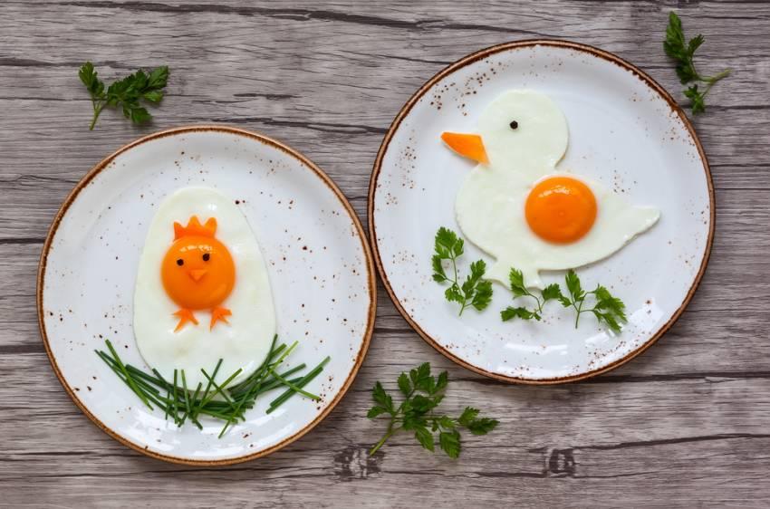 Masa de Pasti pentru copii: 21 de Idei foarte creative si simpatice de a decora mancarea din farfurii pe gustul celor mici: Piu-piu si mac-mac