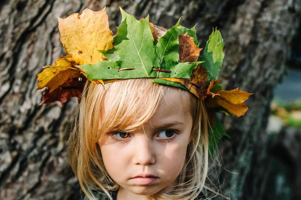 ATELIERUL DE CREATIE: 22 de idei pentru a realiza impreuna cu micutul tau adevarate Minunatii de Toamna: Coroana imparatului