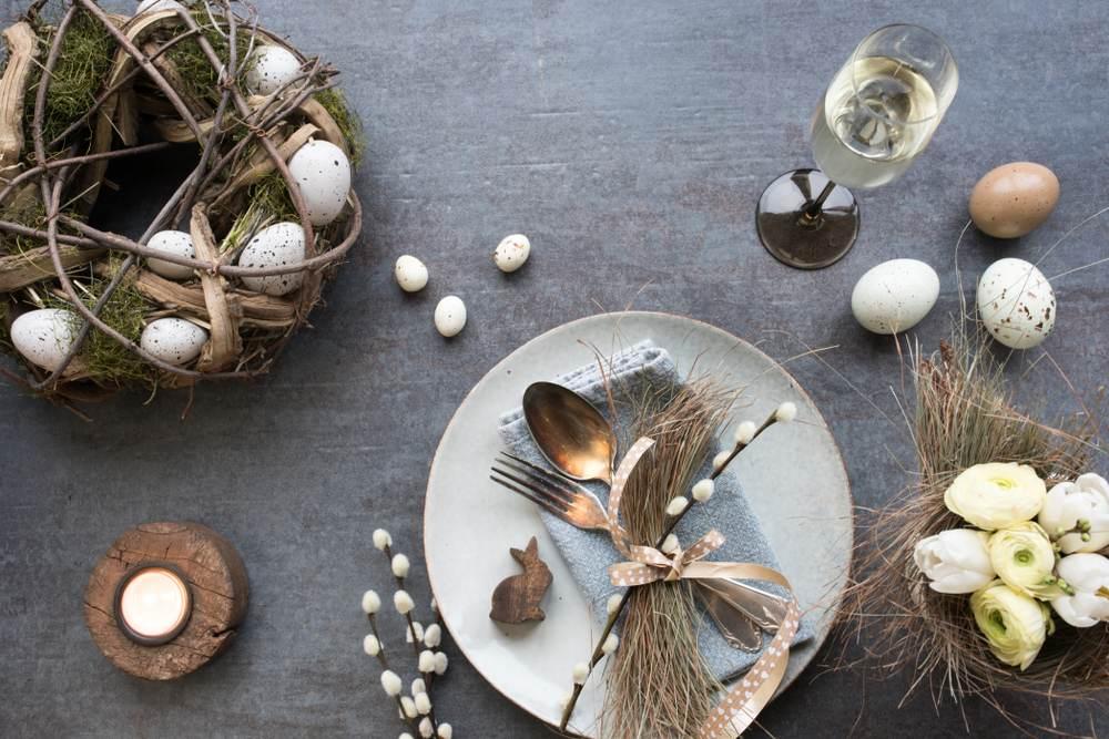 Masa de Pasti: 19 Idei super simple, dar ingenioase, de decorare a farfuriei: Decorare rustica a farfuriilor si a meselor