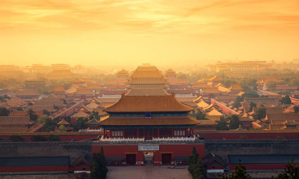Rasarituri urbane: 14 rasarituri splendide din diverse colturi ale lumii: Rasarit in Beijing