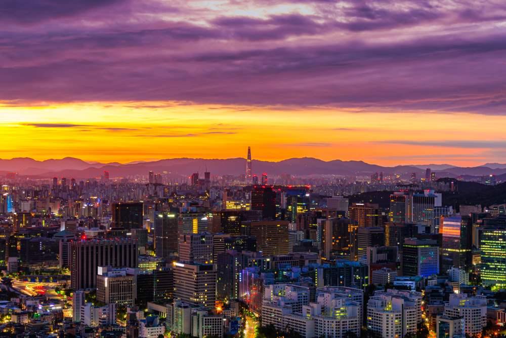 Rasarituri urbane: 14 rasarituri splendide din diverse colturi ale lumii: Rasarit in Seul