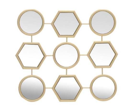 Decoratiuni minunate care iti vor face viata mai frumoasa (si casa!) Si sunt la reduceri de Black Friday!: Decoratiune cu oglinda Geometrical