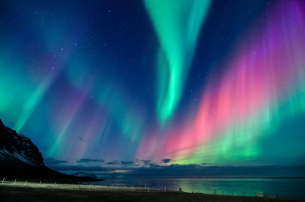 Aurora boreala: Imagini unice cu unul dintre cele mai spectaculoase fenomene optice de pe planeta: Luminile Nordului in Islanda