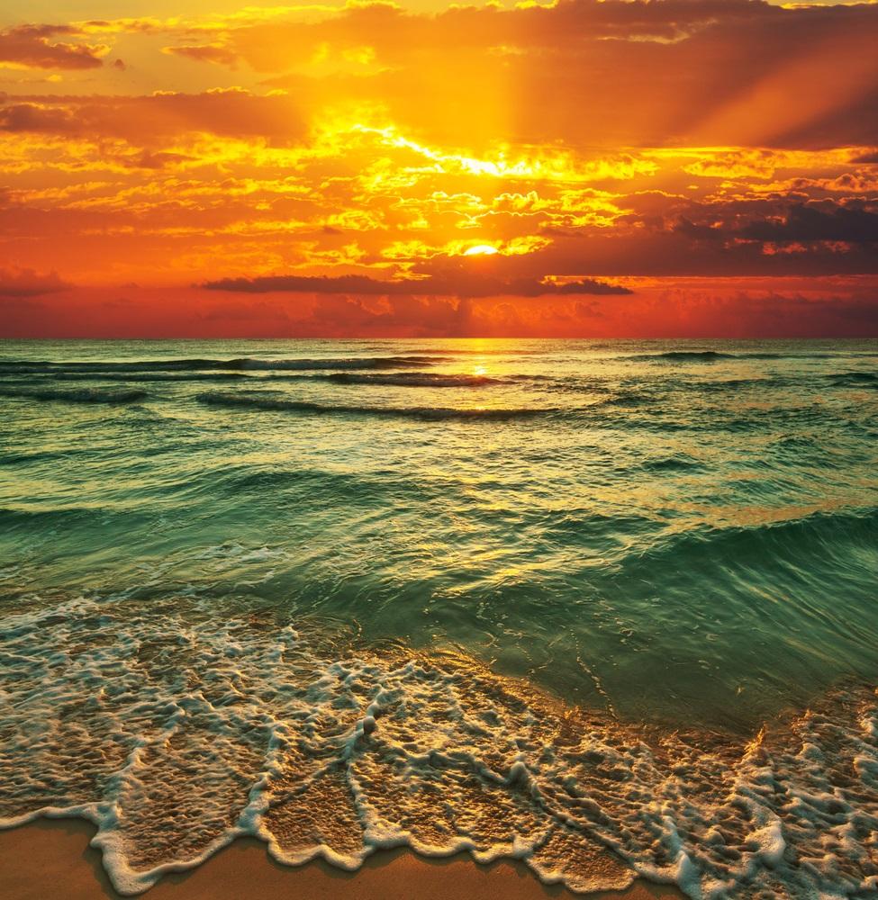 Apus de soare la mare: 19 imagini magnifice, desprinse parca din Paradisul asfintiturilor: Perfectiunea creatiei