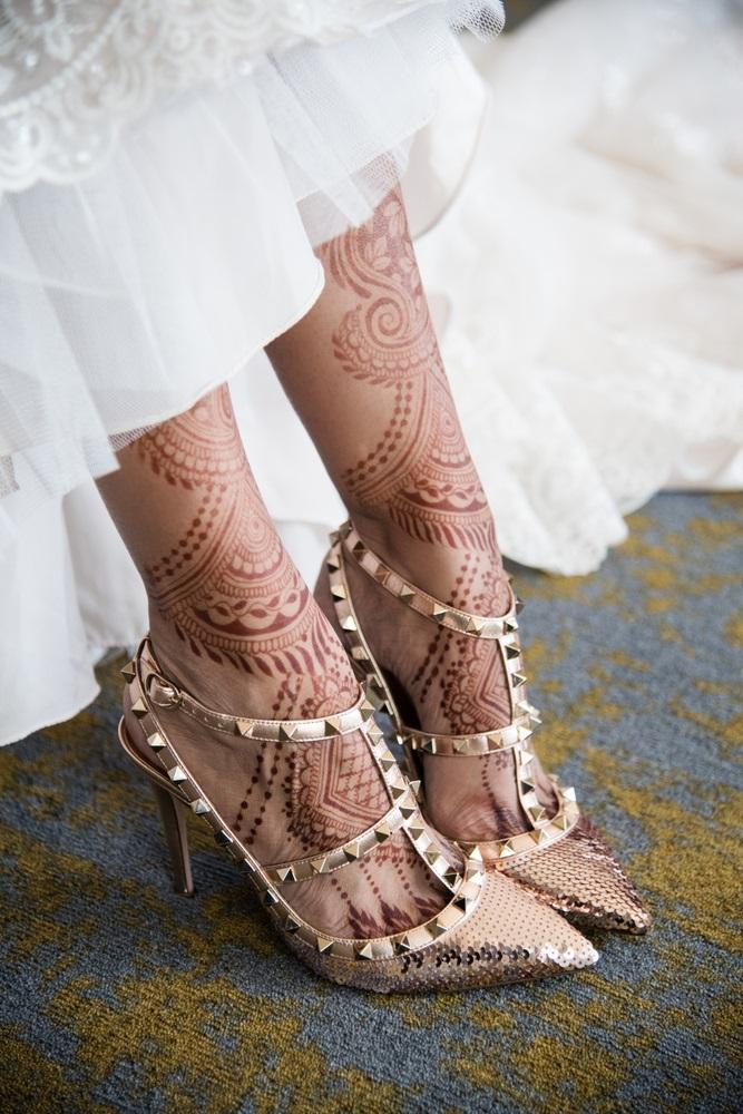 Inspiratie de vara din arta Mehndi: Cele mai frumoase modele decorative de henna pe picioare: Pictura cu henna pe picioare pentru ziua nuntii