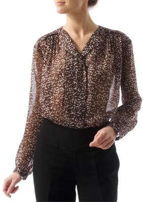 13 modele de bluze elegante: Bluza eleganta fara guler