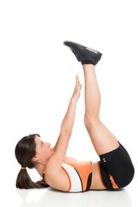 Abdomen superb prin 6 exercitii: Exercitiu 2
